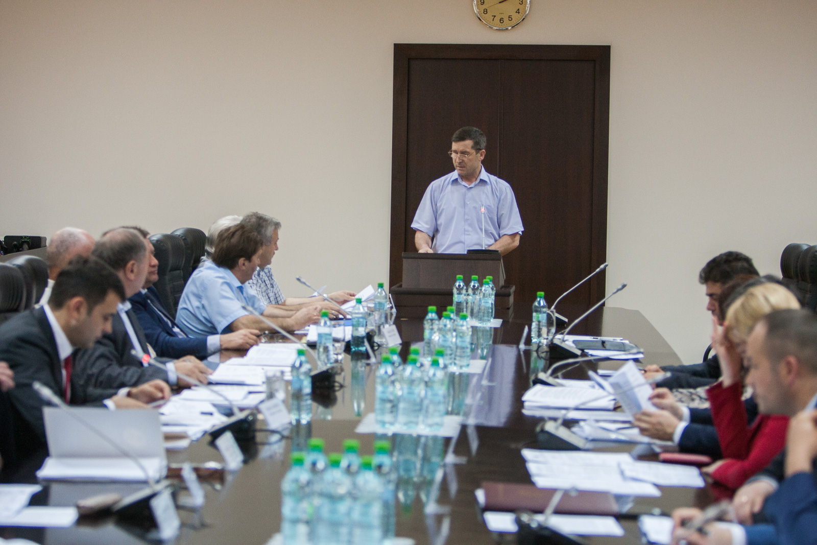 La 4 iunie 2015 a avut loc şedinţa Comisiei naţionale pentru consultări şi negocieri colective, prezidată de Prim-ministrul Chiril Gaburici