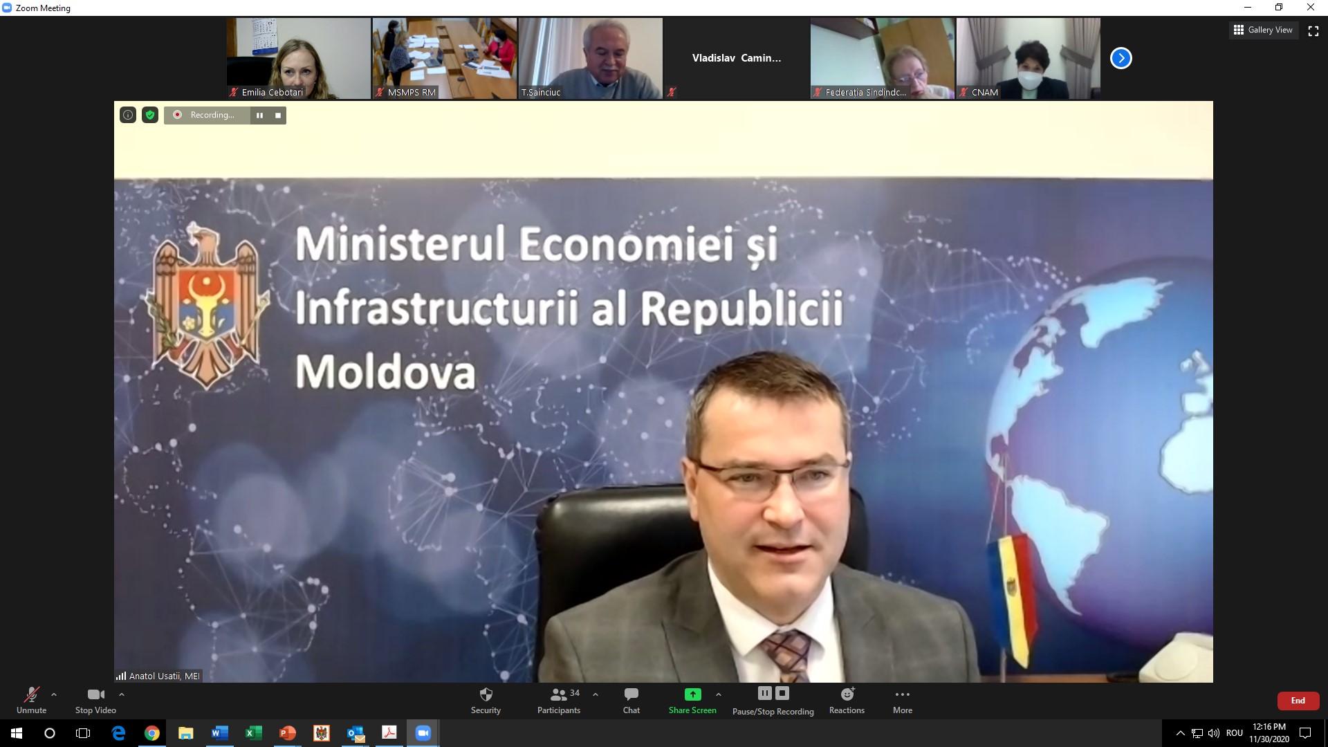 Proiectul politicii fiscale și vamale și proiectele bugetelor pentru anul 2021 pe agenda de dezbatere a Comisiei tripartite