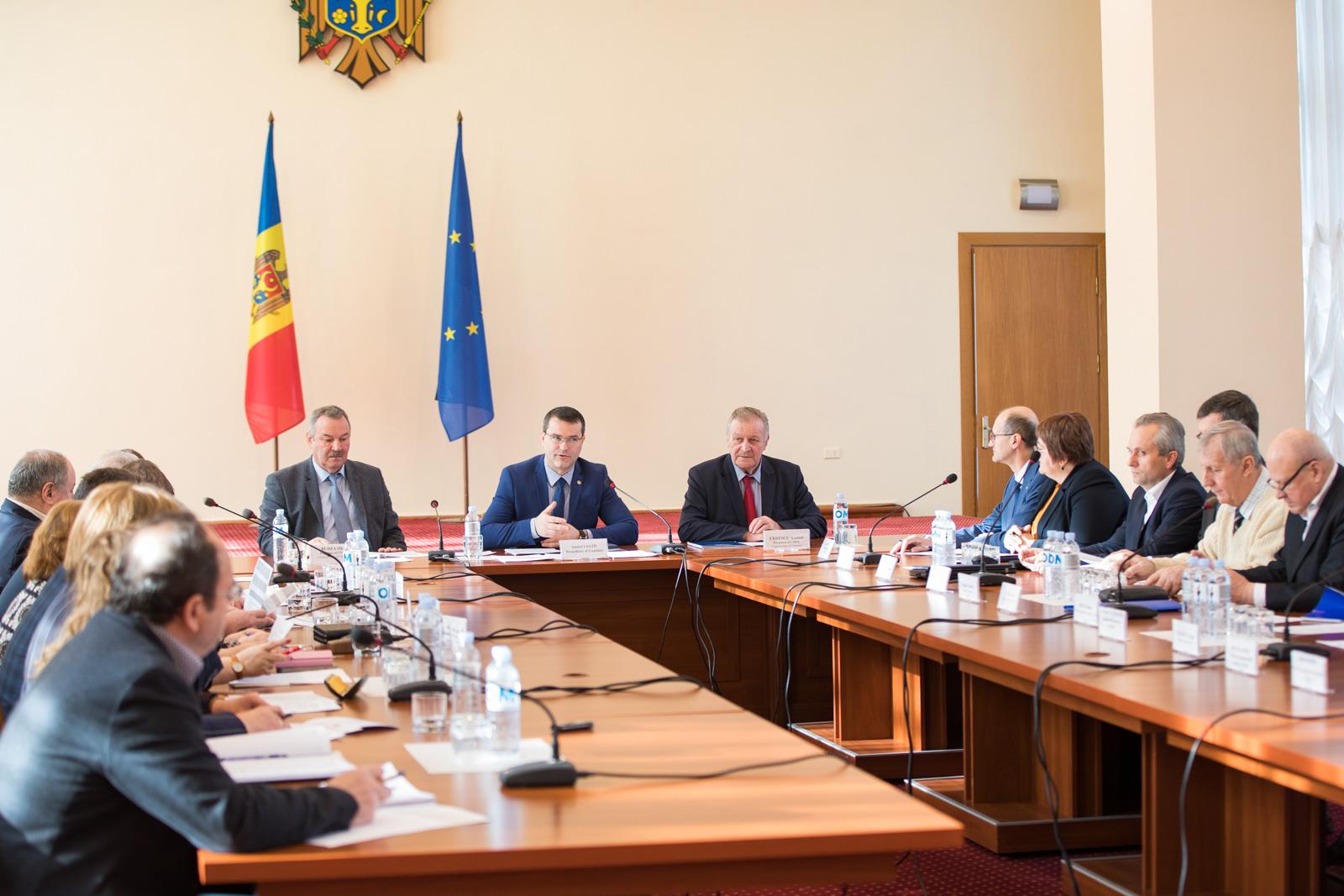 La 28 februarie, a avut loc prima ședință din anul curent a Comisiei naționale pentru consultări și negocieri colective
