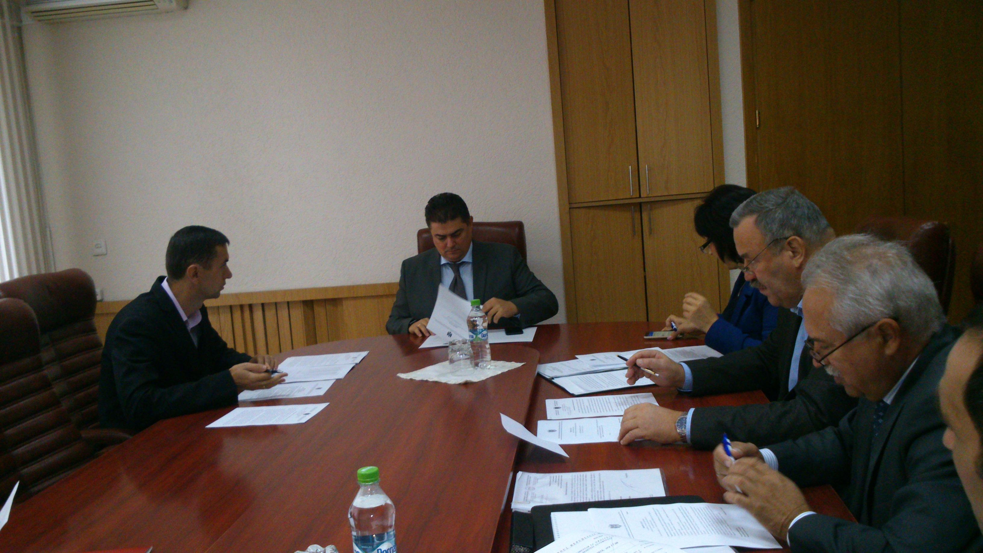 A avut loc şedinţa Biroului executiv al CNCNC