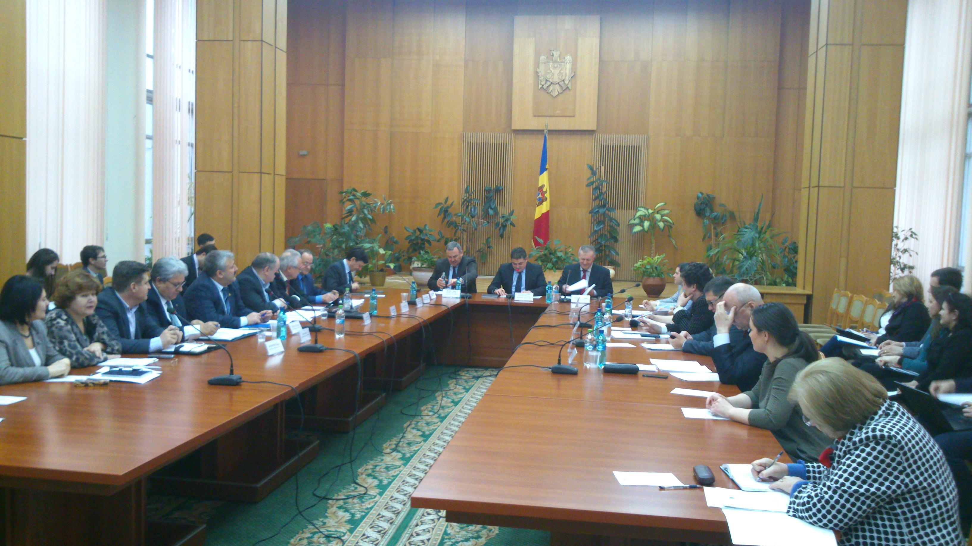 Prima şedinţă a Comisiei naţionale pentru consultări şi negocieri colective din anul curent a avut loc la 23 februarie