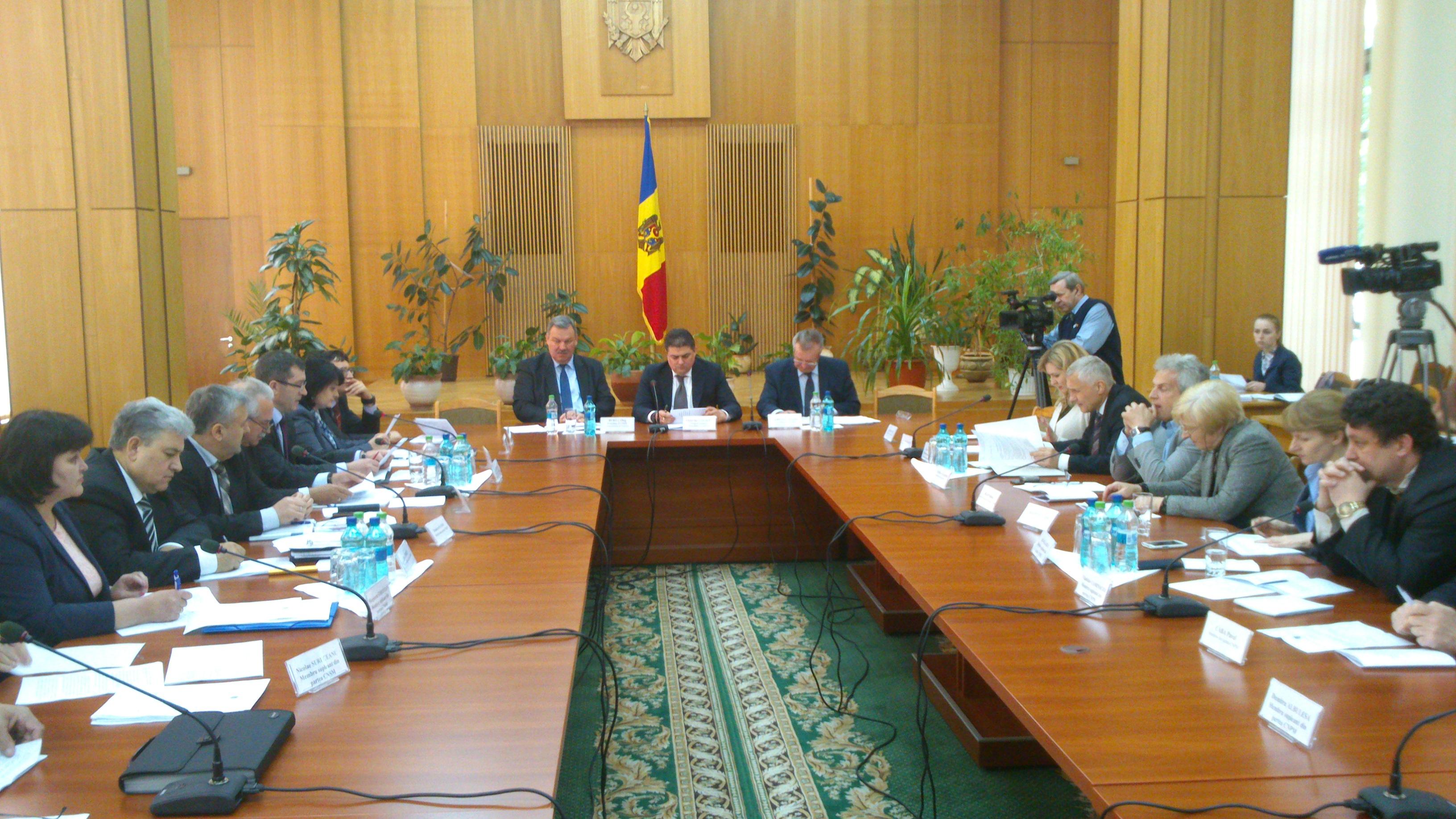 Astăzi a avut loc şedinţa Comisiei naţionale pentru consultări şi negocieri colective