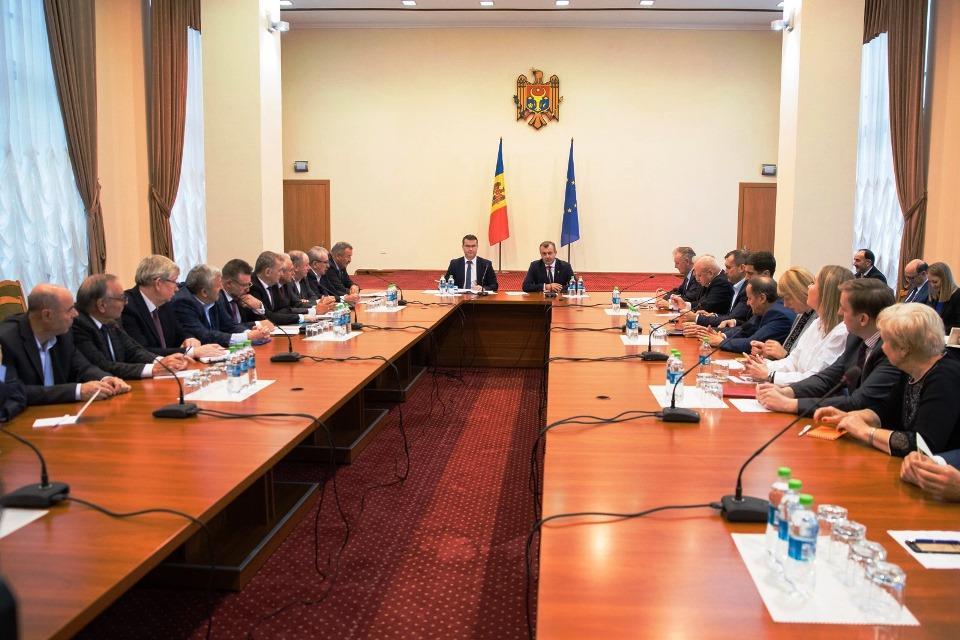 Prim-ministrul Republicii Moldova a avut astăzi întâlnire cu reprezentanții sindicatelor și patronatelor.