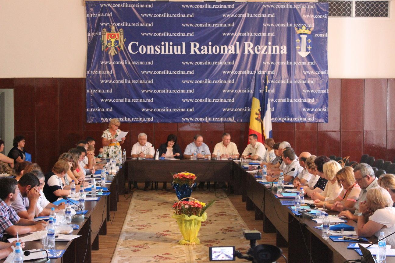 La Rezina a avut loc un seminar de instruire pentru partenerii sociali din raion